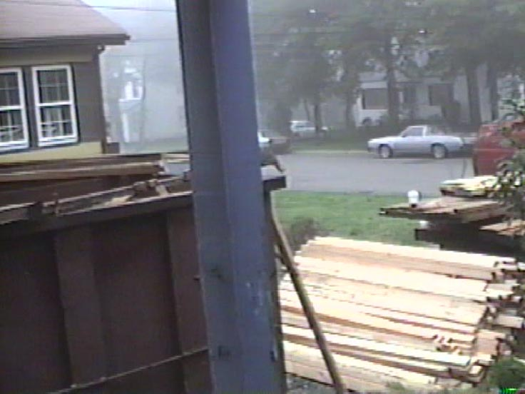Lumber is here and we started to rip off the roof!