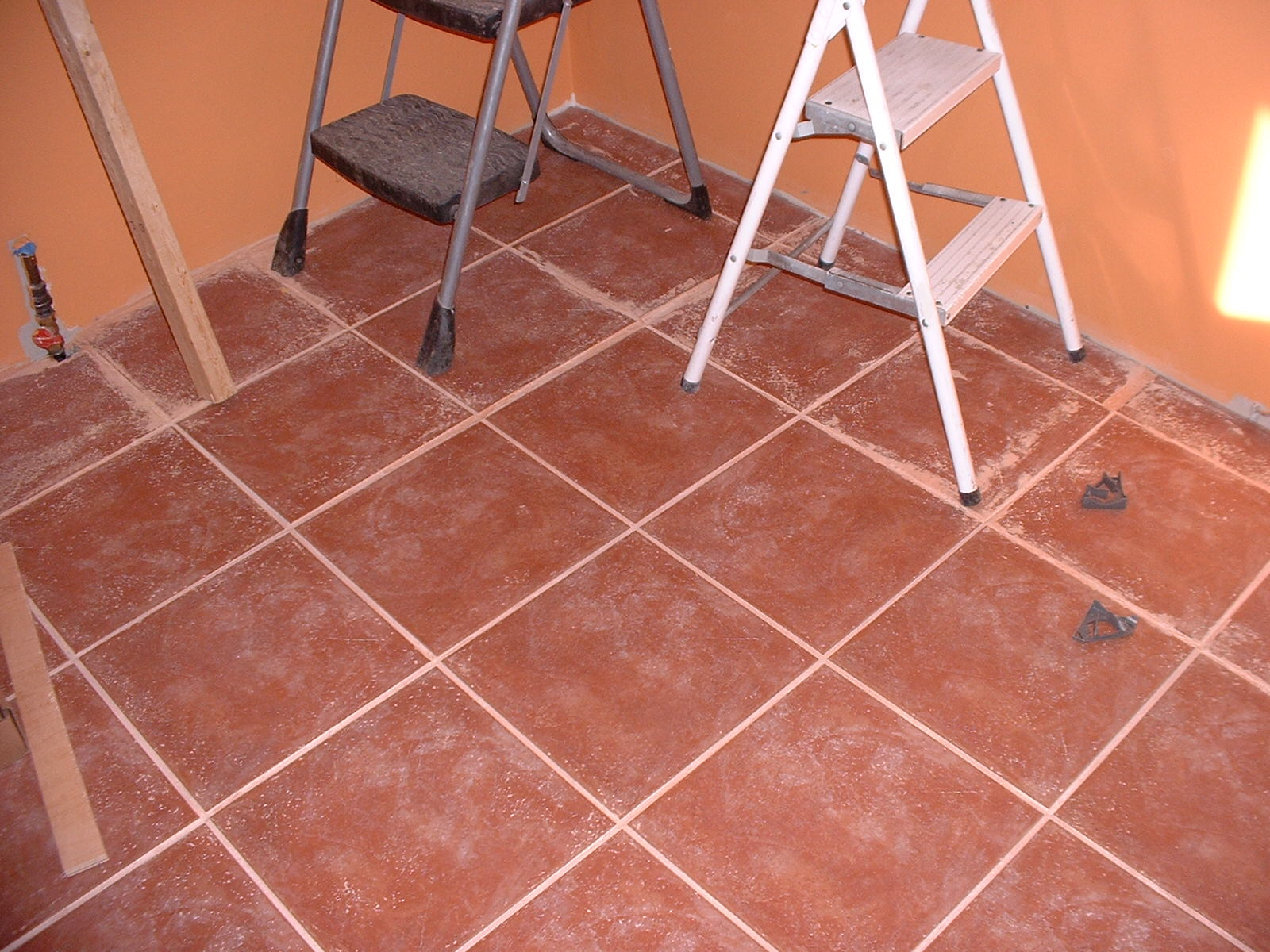 This is the tile work that the Owners did over the weekend.
