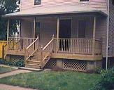 Front porch, deck