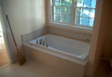 The finishing touches are now being applied to the Master Bathroom.