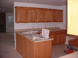 Here is a kitchen we did in a new home.