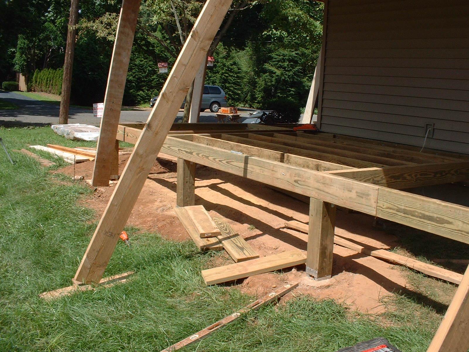 Wrap Around Deck Construction : Wrap around porch